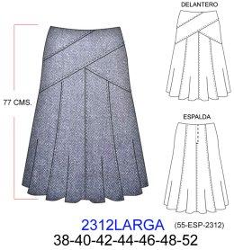 De Modelos Evase Modelos Faldas De Largas ROqnwv6