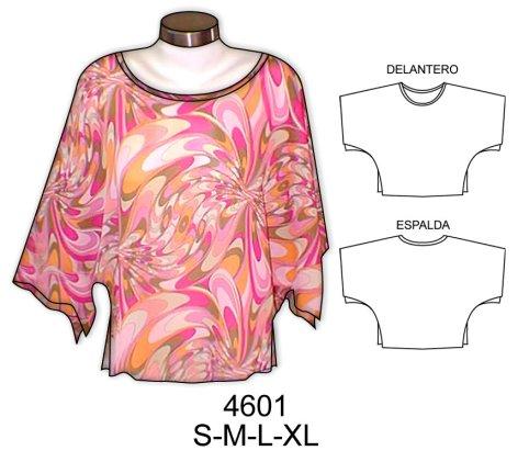 Patrones de blusas sencillas gratis - Imagui