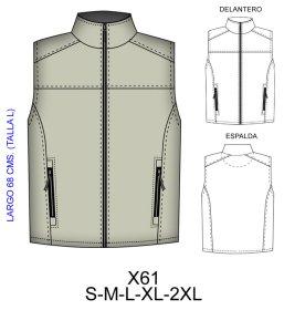 Patrones para chaquetas de hombre