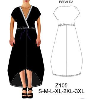Vestidos asimetricos cortos patrones