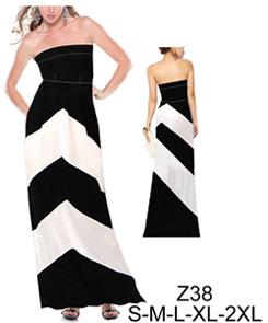 Como hacer vestido largo de modal