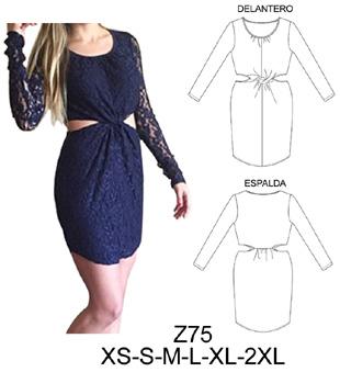 Patrones para hacer vestidos de fiesta cortos