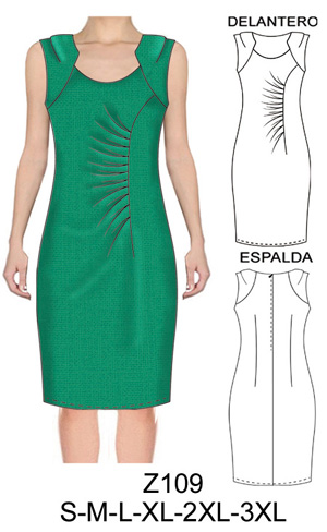 Como hacer un vestido en tela de punto