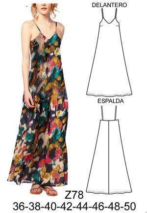 Figurin vestidos mujer